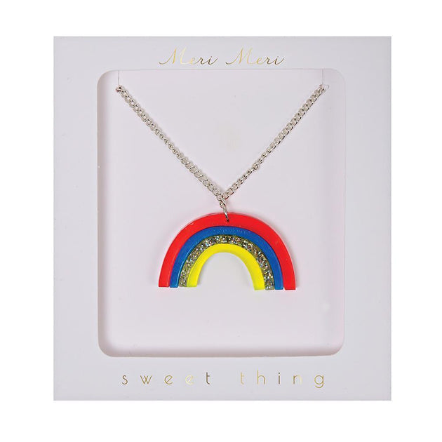 Rainbow Necklace Meri Meri Lemon Drop Children's Shop - Lemon Drop Children's Shop
