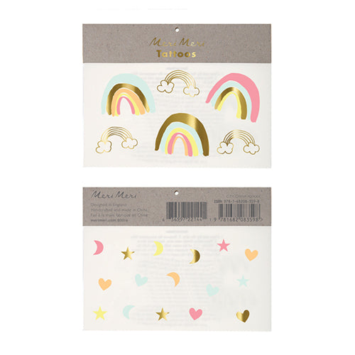 Neon Rainbows Tattoos Lemon Drop Children's Shop Lemon Drop Children's Shop - Lemon Drop Children's Shop