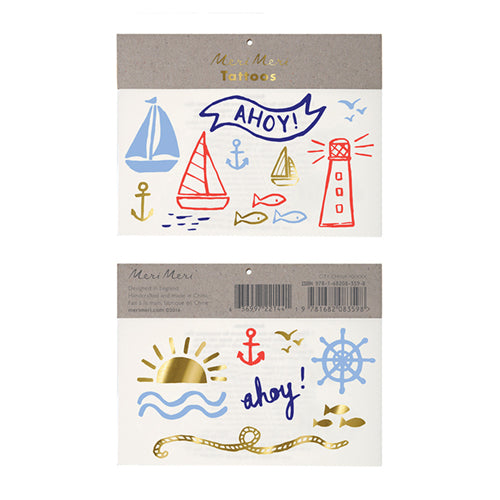 Nautical Tattoos Lemon Drop Children's Shop Lemon Drop Children's Shop - Lemon Drop Children's Shop