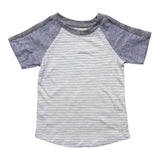 Erick Raglan Tee Malibu Miki Miette Lemon Drop Children's Shop - Lemon Drop Children's Shop