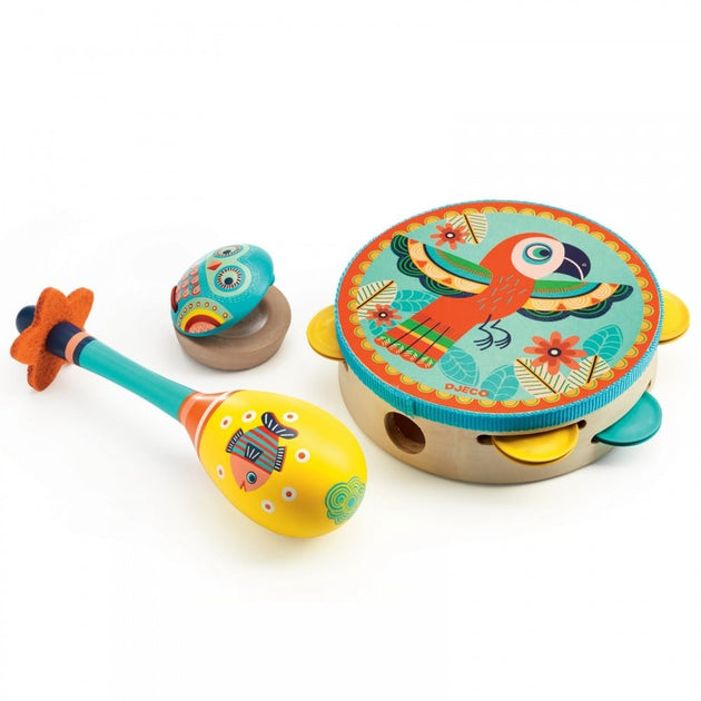DJECO Animambo Musical Instrument Set Djeco Lemon Drop Children's Shop - Lemon Drop Children's Shop