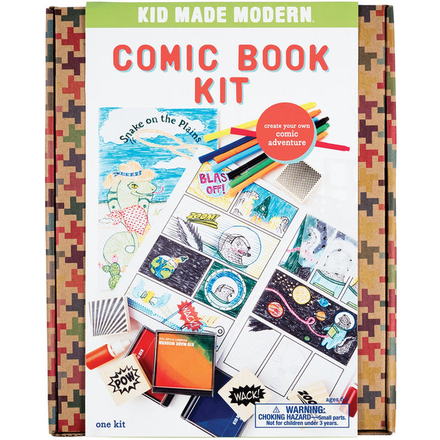 Comic Book Kit KidMadeModern Lemon Drop Children's Shop - Lemon Drop Children's Shop