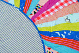 WHIMSICAL QUILTED PLAYMAT