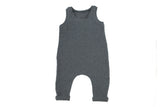 Grey Jumpsuit JumpingJacksCo Lemon Drop Children's Shop - Lemon Drop Children's Shop