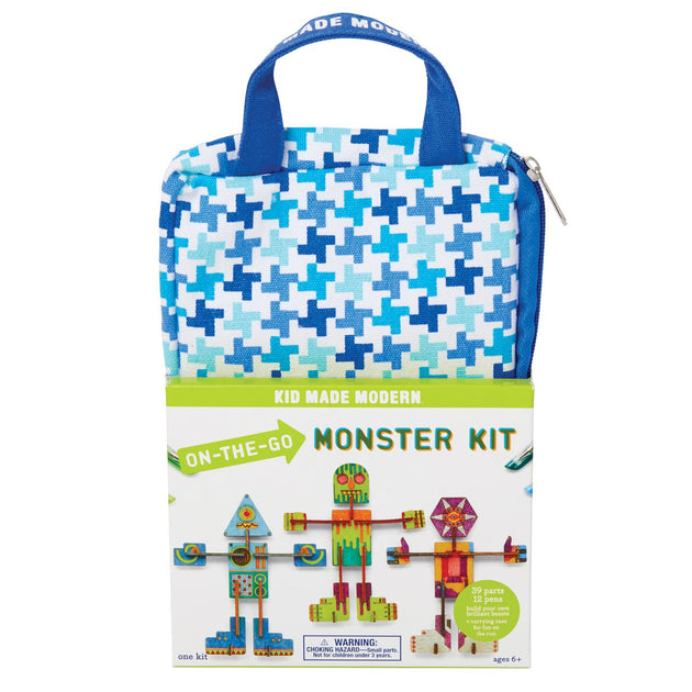 On-the-Go Monster Kit KidMadeModern Lemon Drop Children's Shop - Lemon Drop Children's Shop