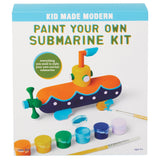 Paint Your Own Submarine Kit KidMadeModern Lemon Drop Children's Shop - Lemon Drop Children's Shop