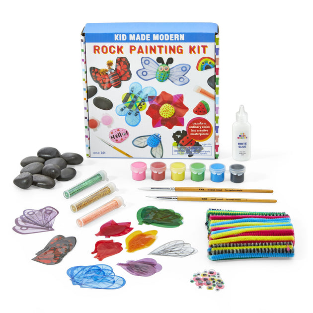 Rock Painting Kit KidMadeModern Lemon Drop Children's Shop - Lemon Drop Children's Shop