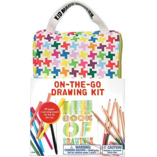 On-The-Go Drawing Kit KidMadeModern Lemon Drop Children's Shop - Lemon Drop Children's Shop
