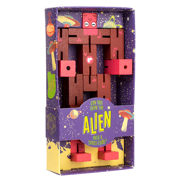 Puzzle Planet Alien Professor Puzzle Lemon Drop Children's Shop - Lemon Drop Children's Shop