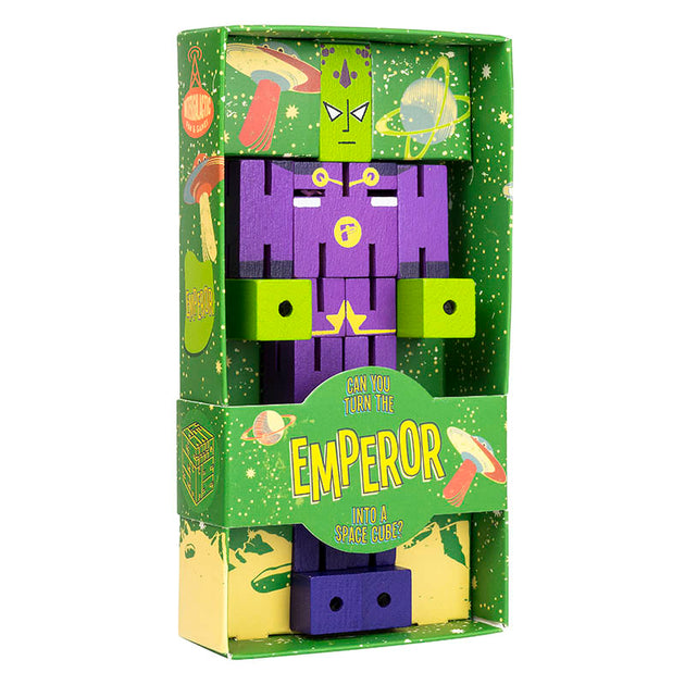 Puzzle Planet Emperor Professor Puzzle Lemon Drop Children's Shop - Lemon Drop Children's Shop