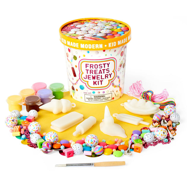 Frosty Treats Jewelry Kit KidMadeModern Lemon Drop Children's Shop - Lemon Drop Children's Shop