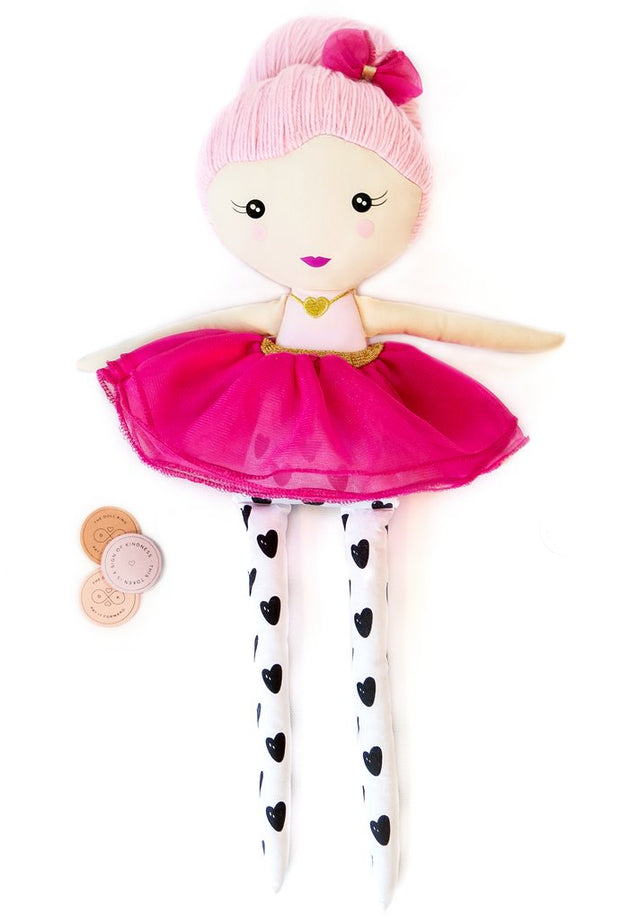 The Grace Doll The Kindness Doll Lemon Drop Children's Shop - Lemon Drop Children's Shop