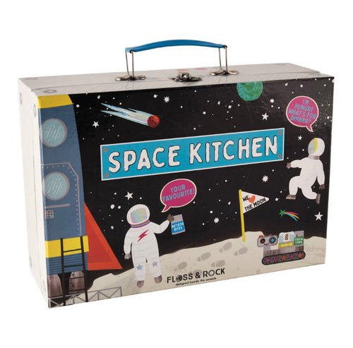 Space Tin Kitchen Set