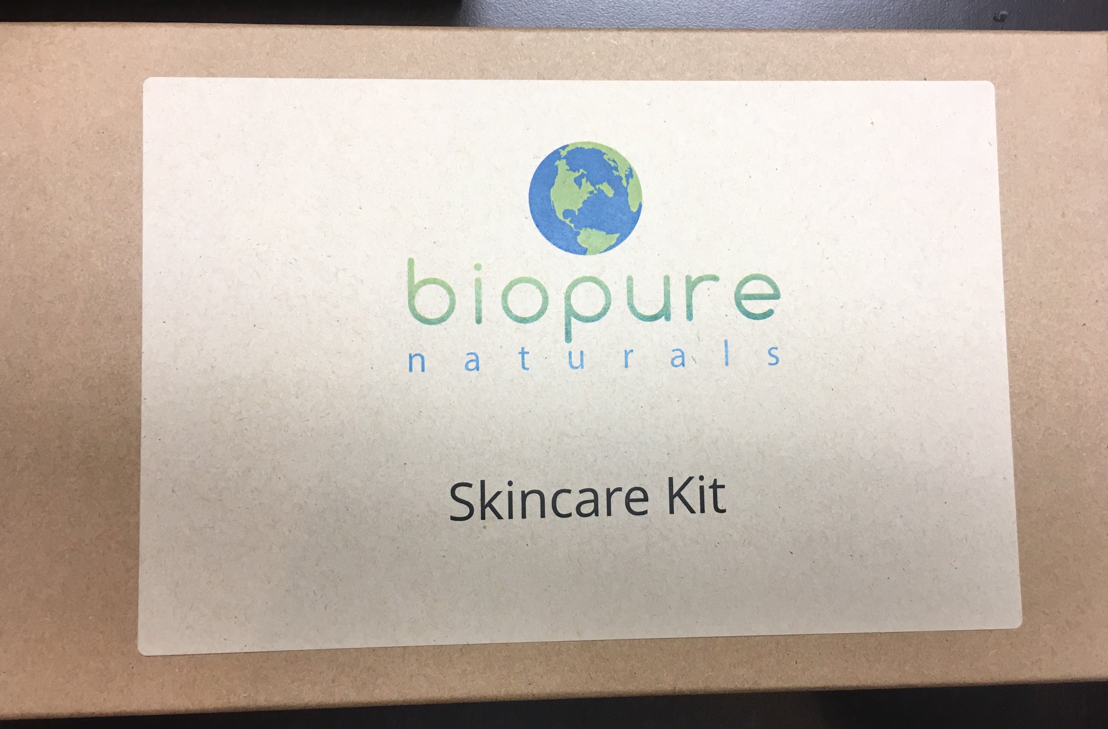 Skincare Kit - Skin Type Kit Aqua (Water) for Anti-aging and Dry Skin Types