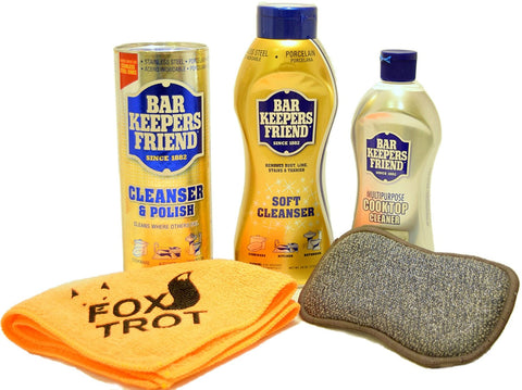 Bar Keepers Friend Cleanser Trio