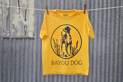 Kids Bayou Dog T-Shirt (Daisy) - The Louisiana Catahoula Catalog, Inc. Kids Bayou Dog T-Shirt (Daisy) - The Catahoula Shop