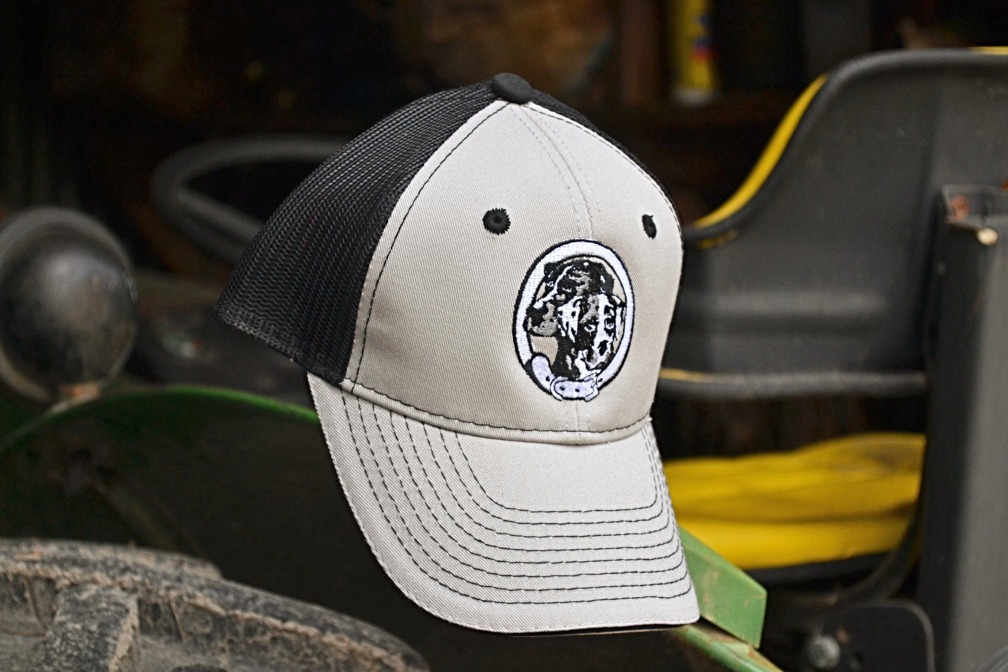 NALC Logo Hat (Black & Gray) - The Louisiana Catahoula Catalog, Inc. NALC Logo Hat (Black & Gray) - The Catahoula Shop