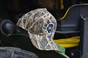 Mossy Oak® Shadow Grass Blades NALC Logo Hat - The Louisiana Catahoula Catalog, Inc. Mossy Oak® Shadow Grass Blades NALC Logo Hat - The Catahoula Shop