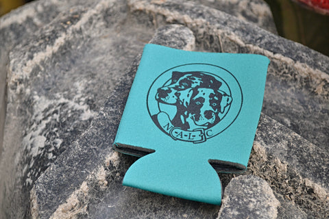 NALC Logo Koozie (Teal) - The Louisiana Catahoula Catalog, Inc. NALC Logo Koozie (Teal) - The Catahoula Shop