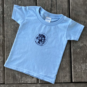 NALC Logo Toddler T-Shirt (Light Blue) - The Louisiana Catahoula Catalog, Inc. NALC Logo Toddler T-Shirt (Light Blue) - The Catahoula Shop
