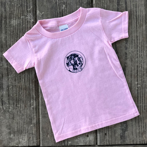 NALC Logo Toddler T-Shirt (Light Pink) - The Louisiana Catahoula Catalog, Inc. NALC Logo Toddler T-Shirt (Light Pink) - The Catahoula Shop