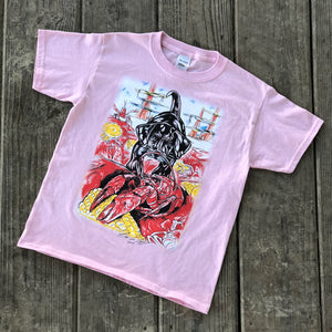 Kids Catahoula Crawfish T-Shirt (Light Pink) - The Louisiana Catahoula Catalog, Inc. Kids Catahoula Crawfish T-Shirt (Light Pink) - The Catahoula Shop