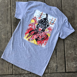 Catahoula Crawfish T-Shirt (Sport Grey) - The Louisiana Catahoula Catalog, Inc. Catahoula Crawfish T-Shirt (Sport Grey) - The Catahoula Shop