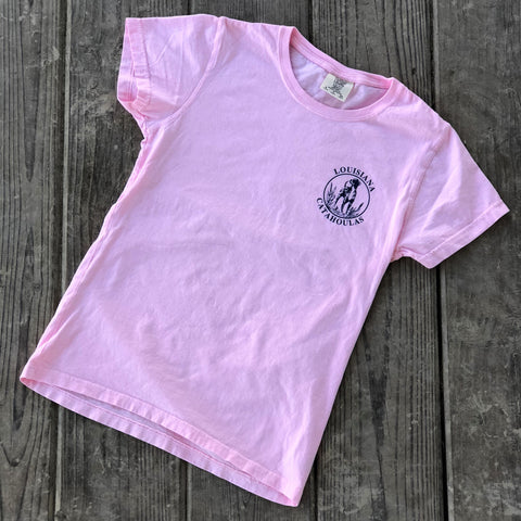 Bayou Dog Ladies T-Shirt (Blossom) - The Louisiana Catahoula Catalog, Inc. Bayou Dog Ladies T-Shirt (Blossom) - The Catahoula Shop