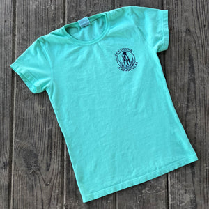 Bayou Dog Ladies T-Shirt (Island Reef) - The Louisiana Catahoula Catalog, Inc. Bayou Dog Ladies T-Shirt (Island Reef) - The Catahoula Shop