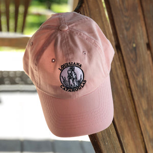 Bayou Dog Logo Hat (Pink) - The Louisiana Catahoula Catalog, Inc. Bayou Dog Logo Hat (Pink) - The Catahoula Shop