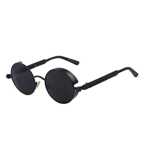Round Steampunk Sunglasses - AESTHEDEX