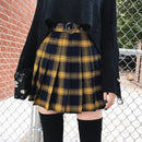 Punk Pleated Mini Skirt