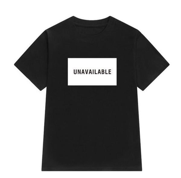 Unavailable T-Shirt - AESTHEDEX