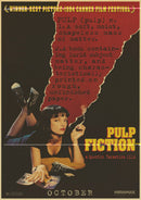 Pulp Fiction Retro Anime Posters - AESTHEDEX