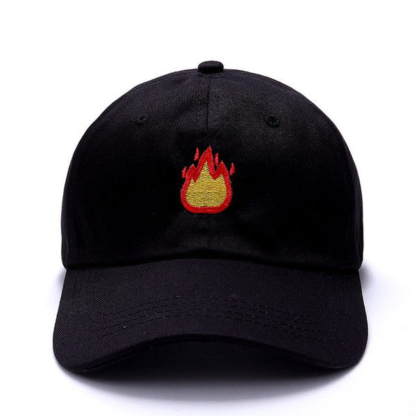 Fire Baseball Cap - AESTHEDEX