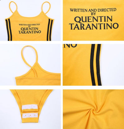 Written and Directed by Quentin Tarantino Yellow Bodysuit - AESTHEDEX