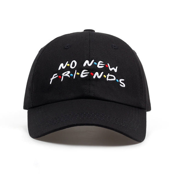 No New Friends Baseball Cap - AESTHEDEX