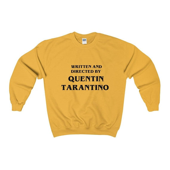 Written and Directed by Quentin Tarantino Sweater - AESTHEDEX