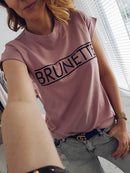 Brunette / Blonde T-Shirt - AESTHEDEX