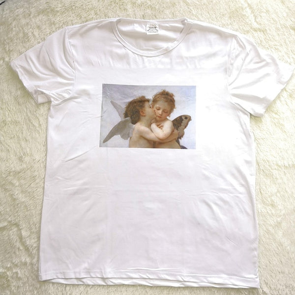 Kissing Angels T-Shirt - AESTHEDEX