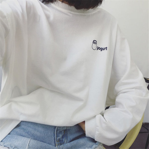 Yogurt Sweater - AESTHEDEX