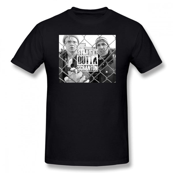 Michael Scott Straight Outta Scranton T-Shirt - AESTHEDEX