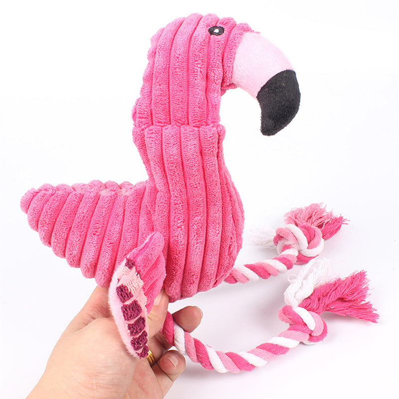 Flamingo Chew Pet Toy