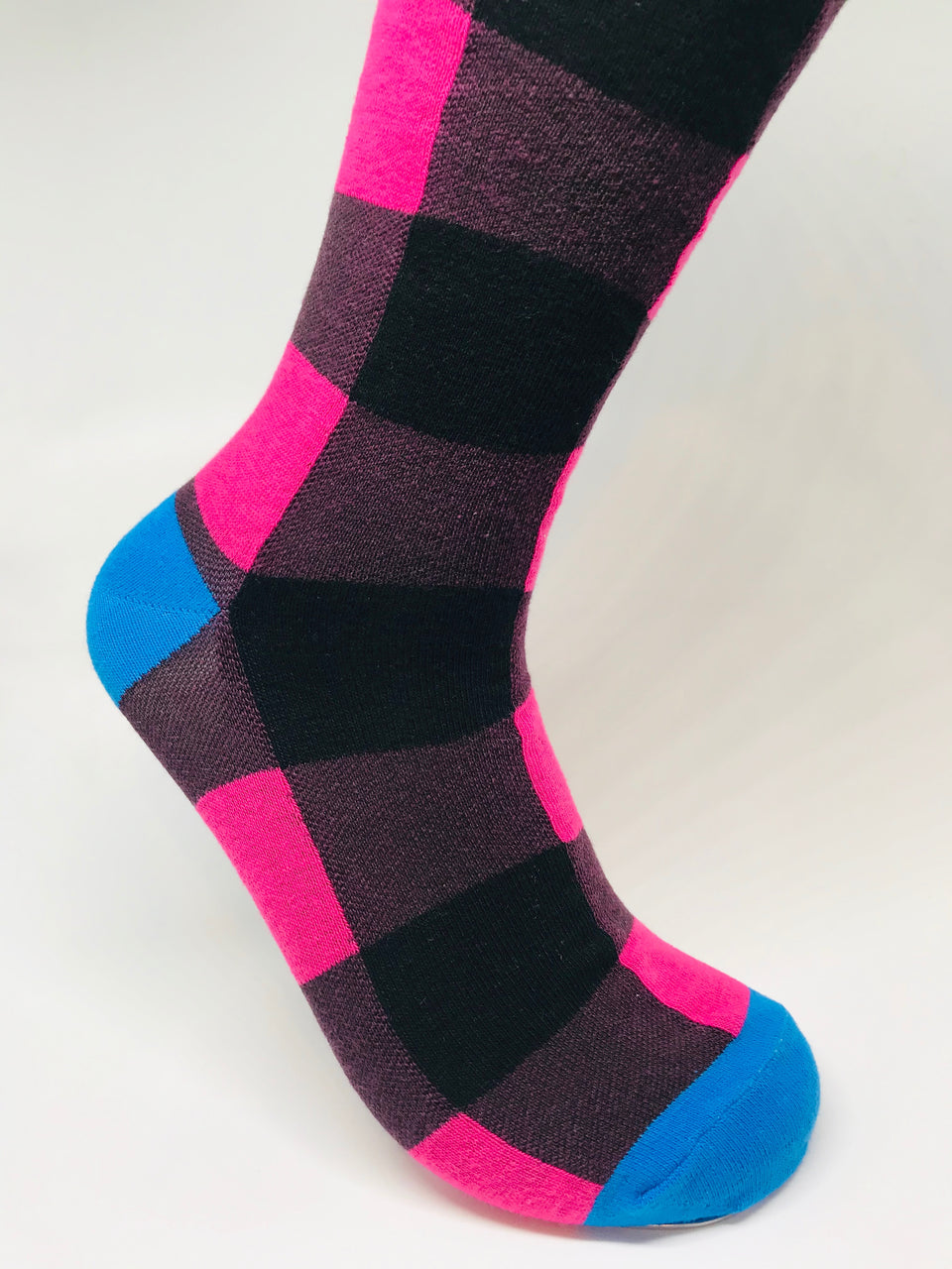 Checker Square Sock