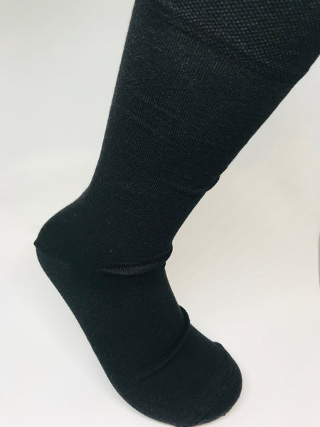 BAMBOO BLACK SOCK