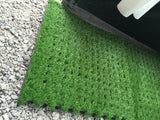 Realistic Looking Padded Green Grass Floor Carpet Mat Tiles for Awning, Tents & Marquees