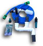 Caravan Mains Water & Waste Water Adaptor Kit - Food Grade Fresh Water Hose (10 Metre)