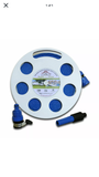 Mains Water Cassette FLAT Food Grade Fresh Water Hose - UK's Smallest Hose Reel