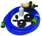 Leisurewize Universal Mains Water Kit (7.5 Metres) - 3 Adaptors All Containers