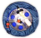 Mains Water Cassette & Valve FLAT Food Grade Fresh Water Hose - UK's Smallest Hose Reel